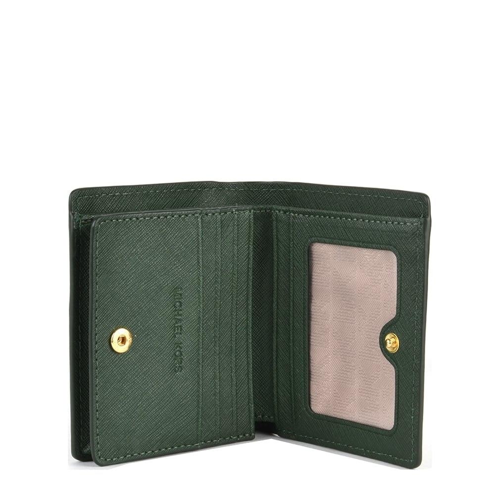 cb51c9d7475c MICHAEL MICHAEL KORS Jet Set Moss 'Green' Carryall Card Case