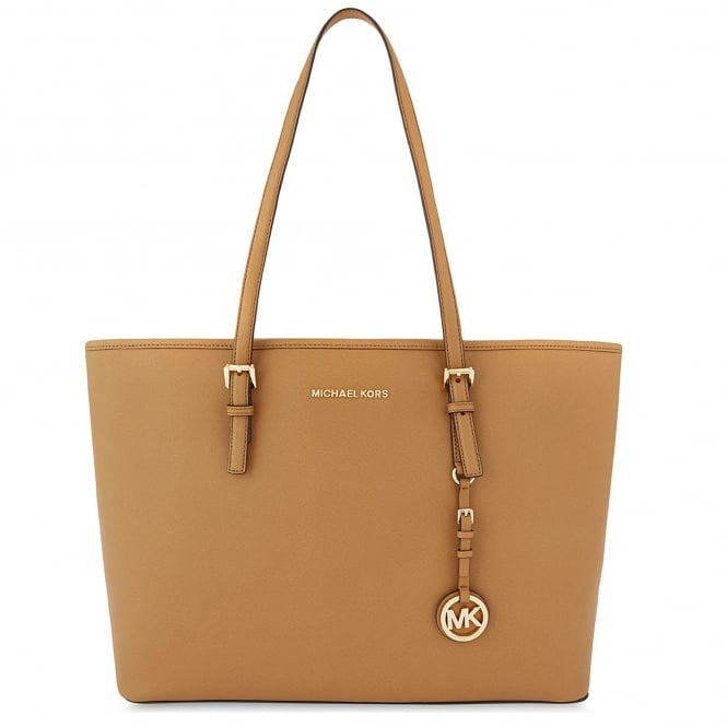 MICHAEL by Michael Kors Jet Set Travel Acorn Multifunction Tote Bag