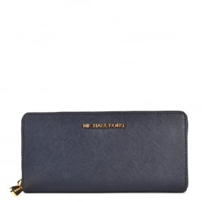 MICHAEL by Michael Kors Jet Set Travel Admiral 'Navy' Continental Wallet