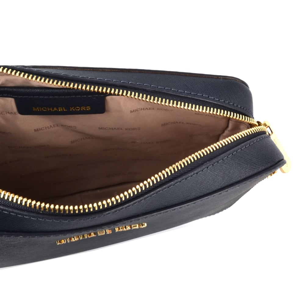 df27a463e849 Jet Set Travel Admiral   039 Navy  039  Saffiano Leather Large Crossbody