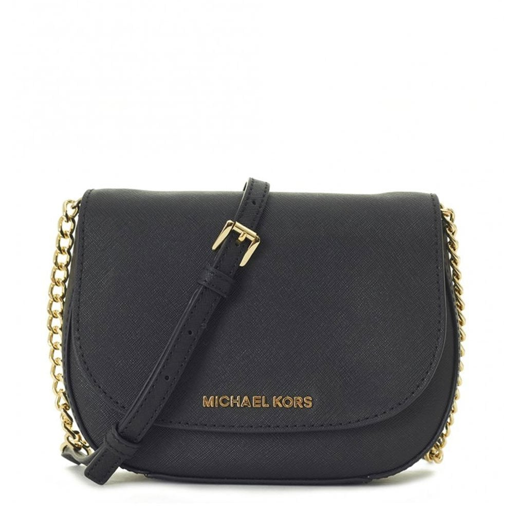 9fae66af511e MICHAEL by Michael Kors Jet Set Travel Black Small Crossbody Bag ...