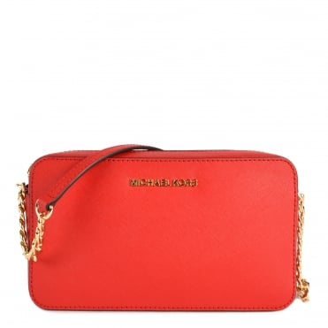 Jet Set Travel Bright Red Crossbody Bag