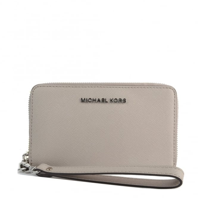 MICHAEL by Michael Kors Jet Set Travel Cement Multifunction Phone Case
