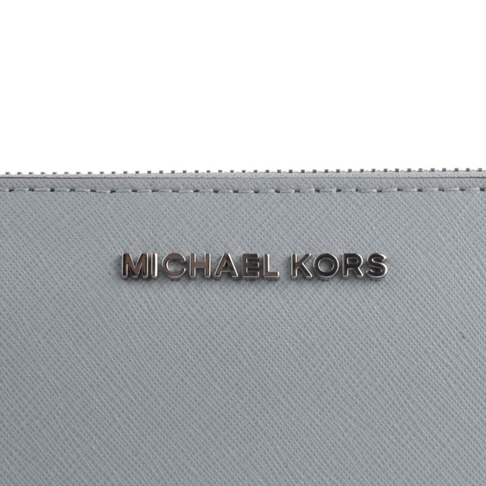 6a89e431d415 MICHAEL Michael Kors Jet Set Travel Dusty Blue Continental Wallet