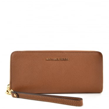 Jet Set Travel Luggage' Tan' Continental Wallet