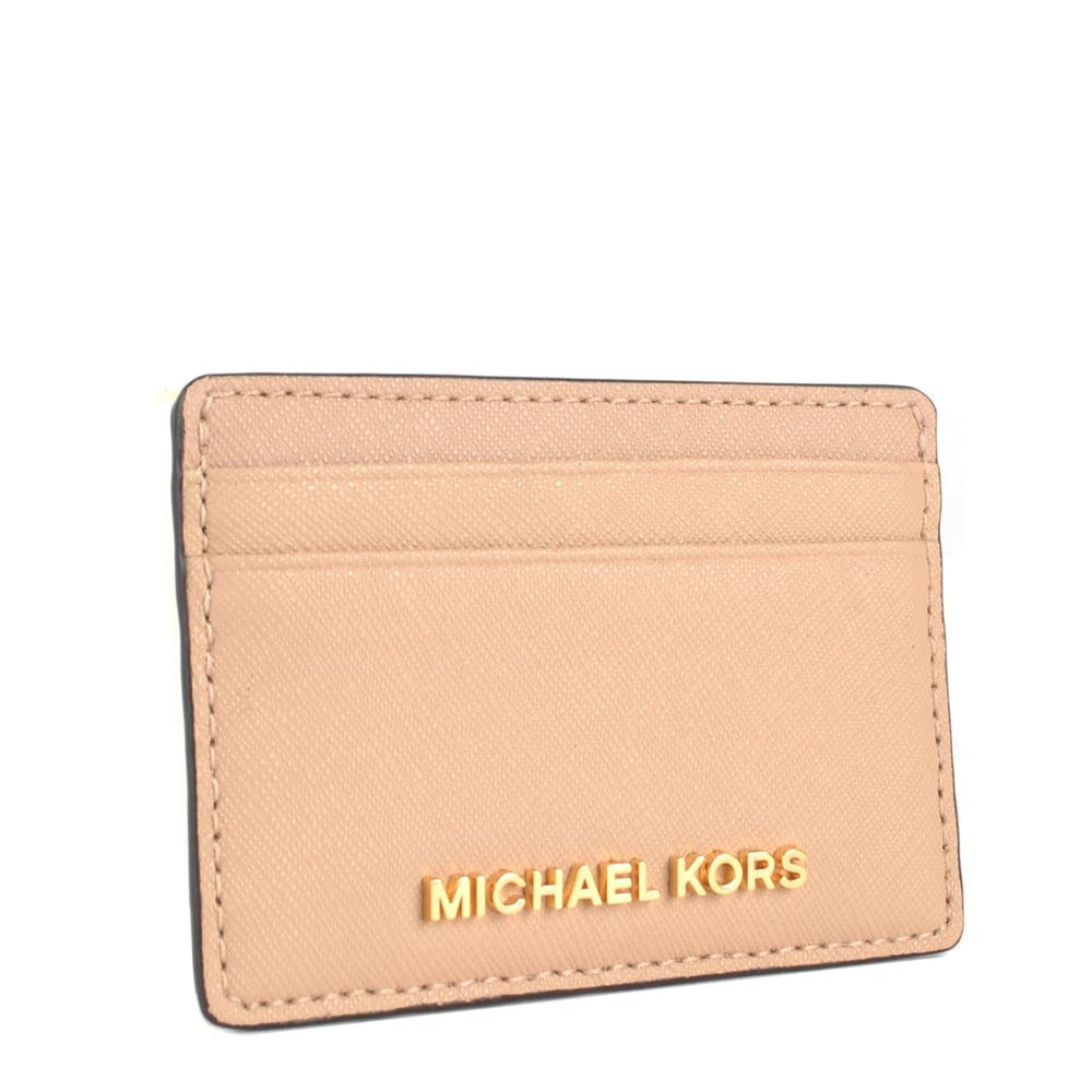 57e7582afb MICHAEL by Michael Kors Jet Set Travel Oyster Card Holder