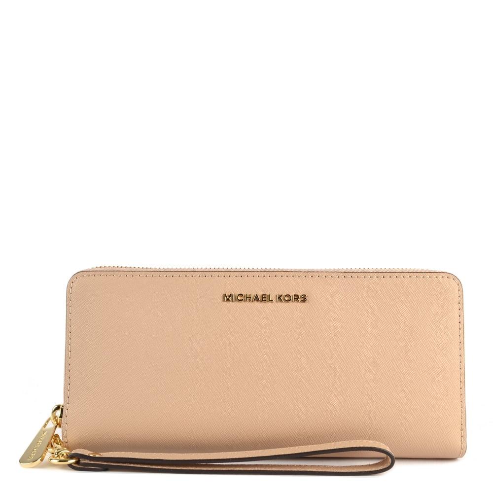 98c2981b5c5b MICHAEL by Michael Kors Jet Set Travel Oyster Continental Wallet