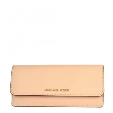 Jet Set Travel Oyster Flat Wallet
