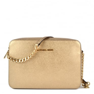 Jet Set Travel Pale Gold Large Crossbody