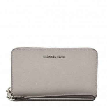 81a12be3a98ec1 Jet Set Travel Pearl Grey Multifunction Phone Case · MICHAEL by Michael Kors  ...