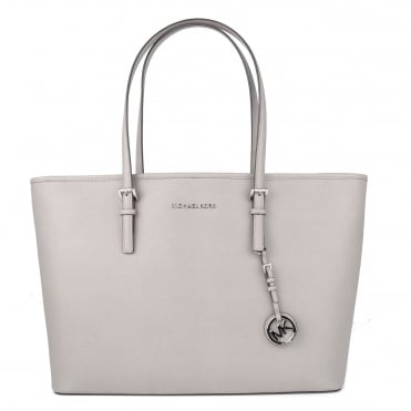 Jet Set Travel Pearl Grey Multifunctional Top Zip Tote