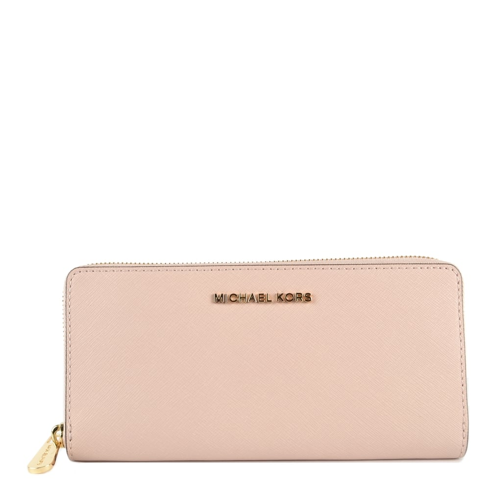 8d17549b1b5a MICHAEL by Michael Kors Jet Set Travel Soft Pink Continental Wallet
