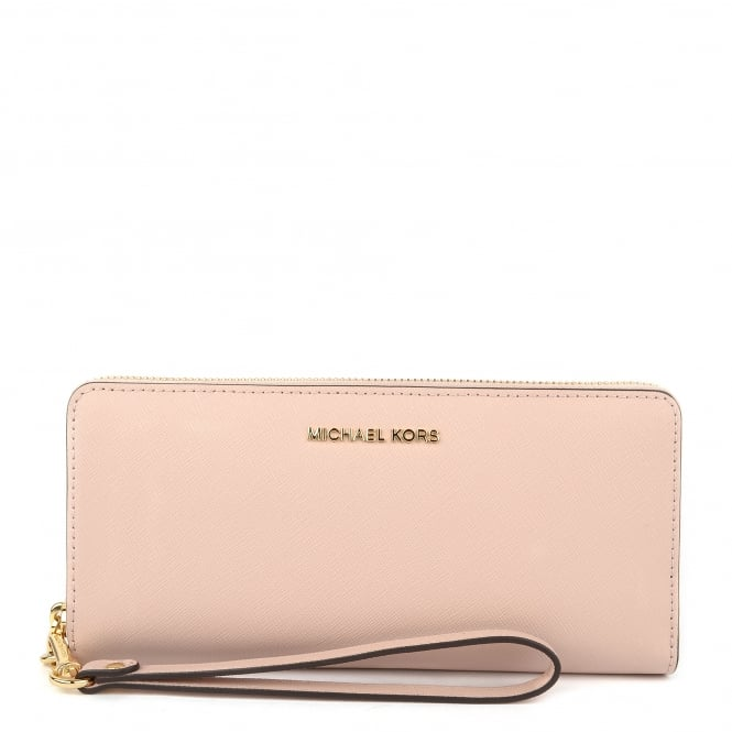 MICHAEL by Michael Kors Jet Set Travel Soft Pink Continental Wallet