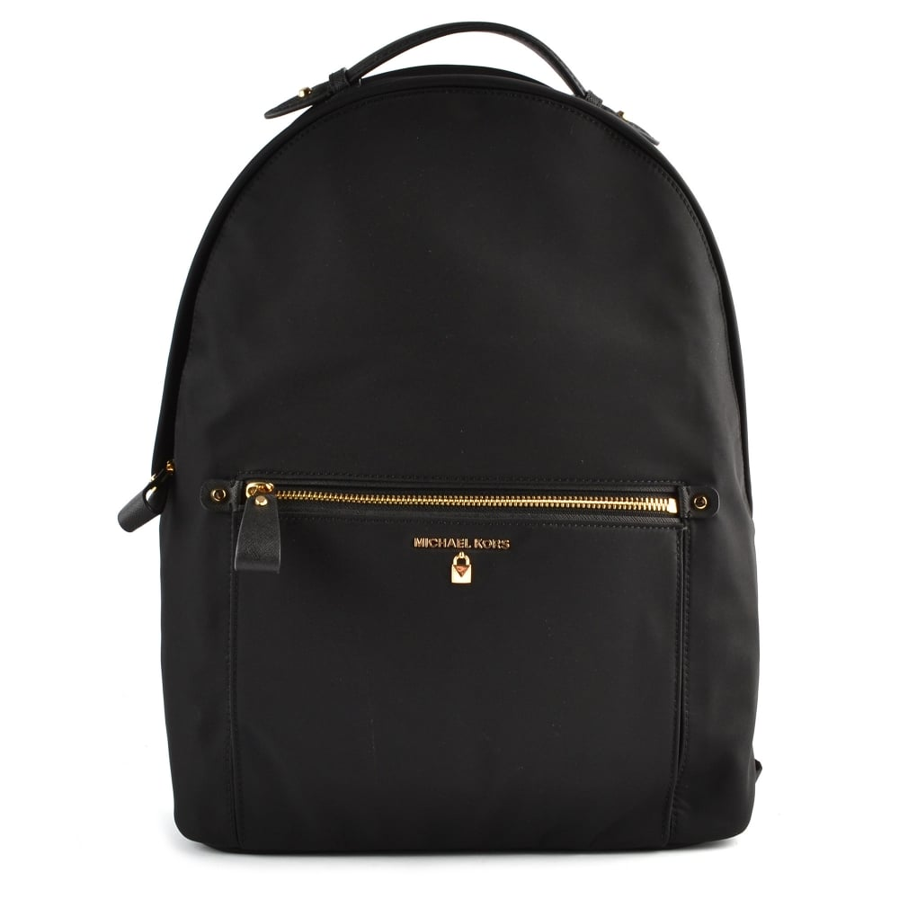 MICHAEL by Michael Kors Kelsey Black Nylon Large Backpack 32e0915bf2520