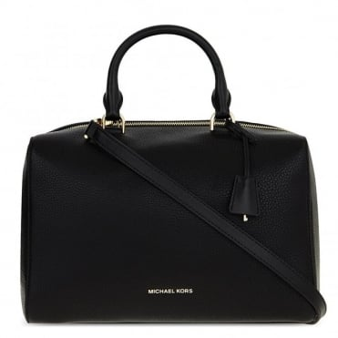 Kirby Black Large Satchel