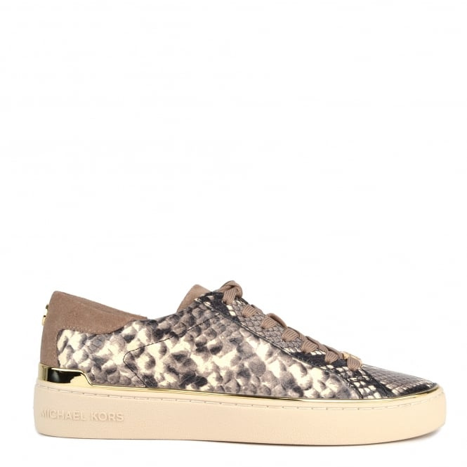 MICHAEL by Michael Kors Kyle Natural Embossed Trainer