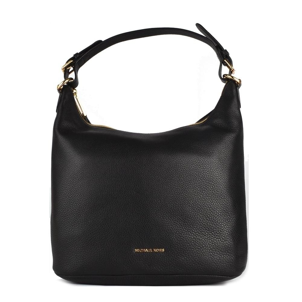 Lupita Black Large Hobo Bag