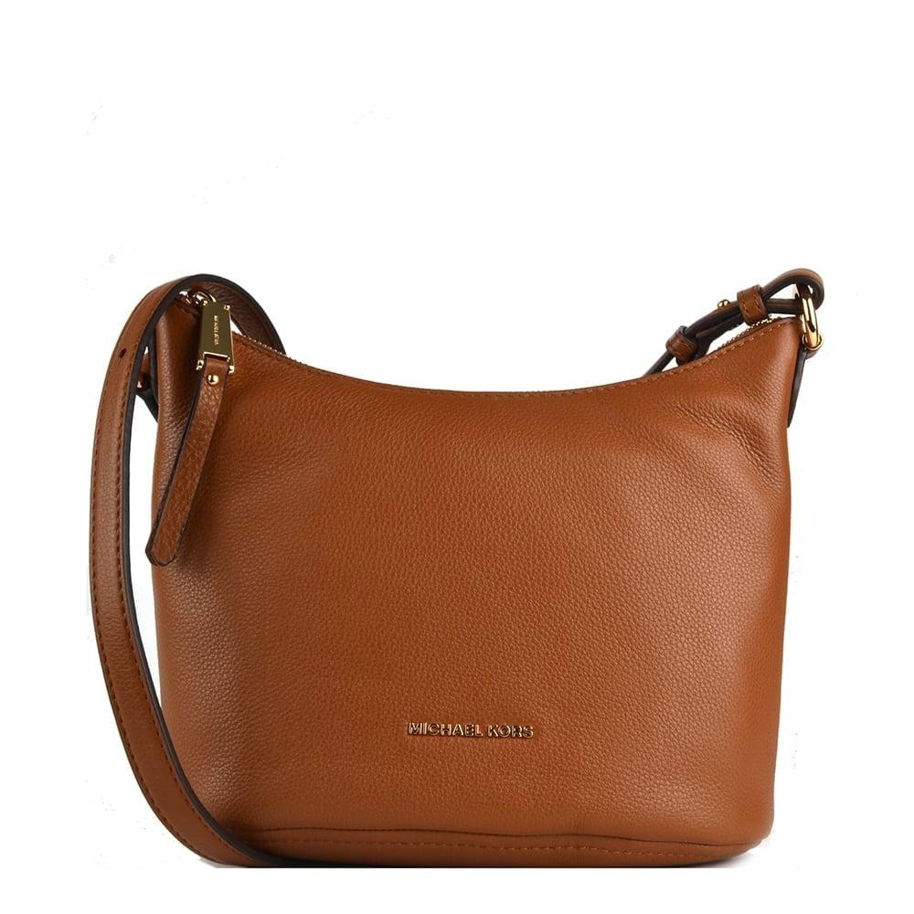 Michael Michael Kors Lupita Tan Medium Messenger Bag