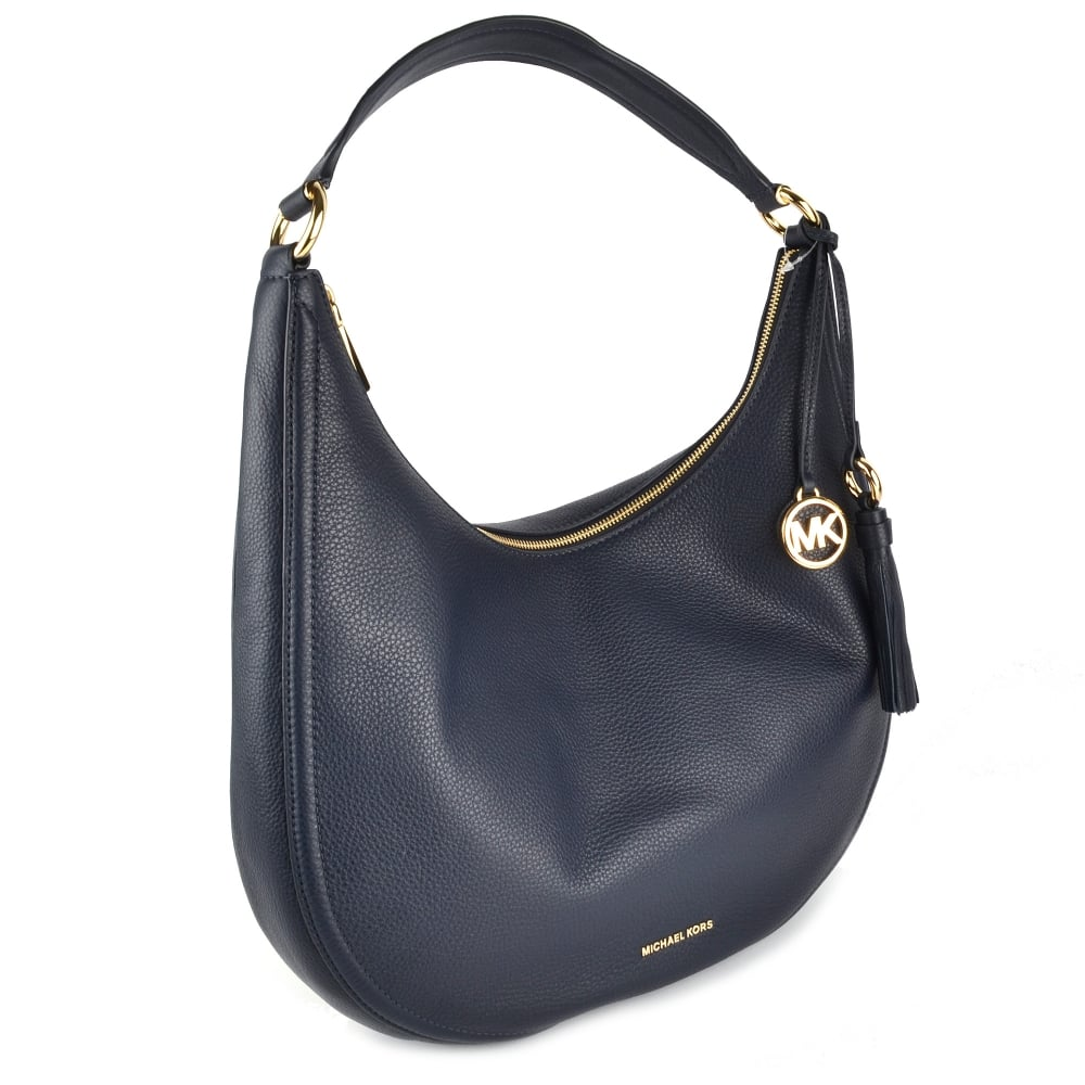 87f942120b87 ... Leather Large Hobo Bag. Lydia Admiral   039 Navy  039  Leather ...