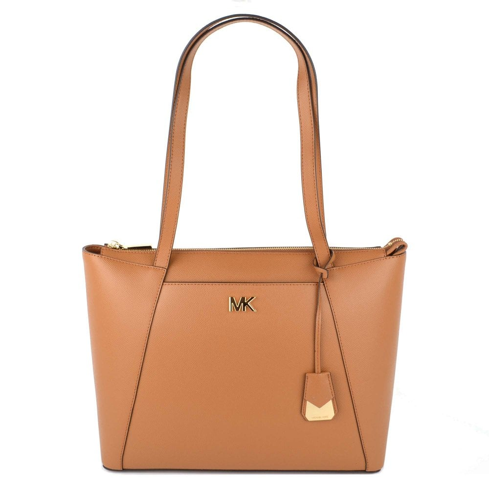 da30142efbce MICHAEL by Michael Kors Maddie Acorn Leather Medium Tote