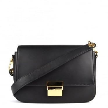 Madelyn Black Shoulder Bag