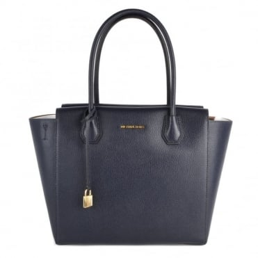 Mercer Admiral 'Navy' Large Convertible Satchel