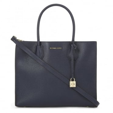 Mercer Admiral 'Navy' Large Convertible Tote
