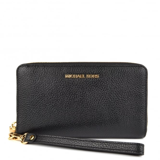 MICHAEL by Michael Kors Mercer Black Large Multifunctional Phone Case