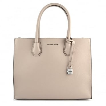 Mercer Cement Large Convertible Satchel