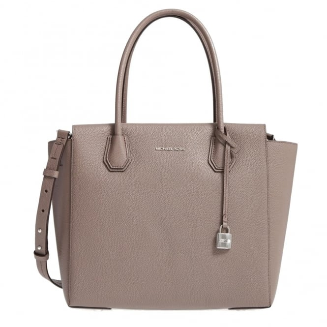 MICHAEL by Michael Kors Mercer Cinder 'Brown' Leather Large Satchel