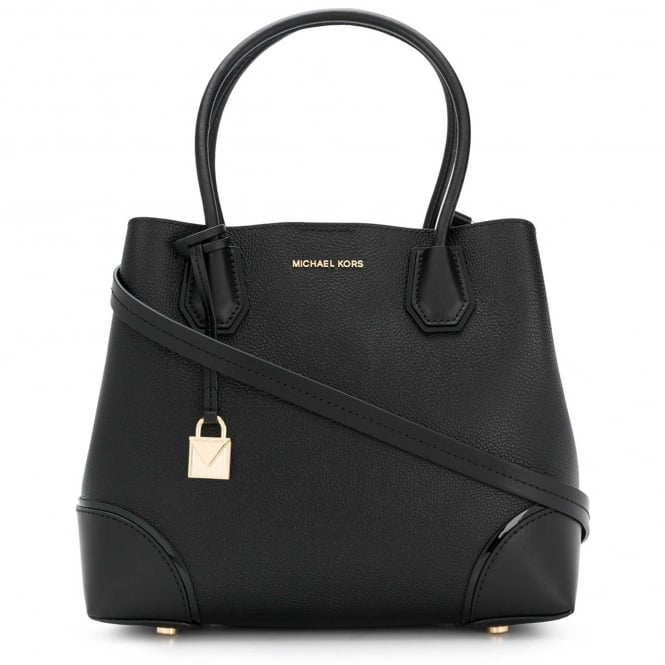 MICHAEL by Michael Kors Mercer Gallery Black Medium Tote Bag