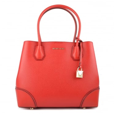 Mercer Gallery Bright Red Medium Tote Bag