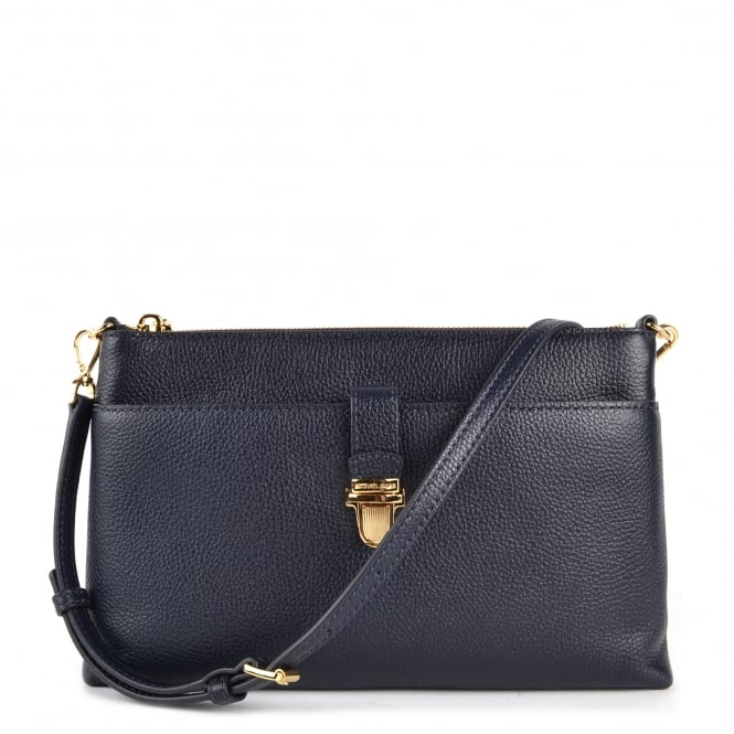 MICHAEL by Michael Kors Mercer Large Admiral 'navy' Pocket Crossbody Bag