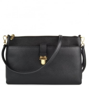 Mercer Large Black Pocket Crossbody Bag