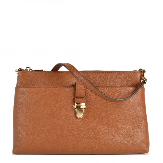 MICHAEL by Michael Kors Mercer Large Luggage 'Tan' Pocket Crossbody Bag