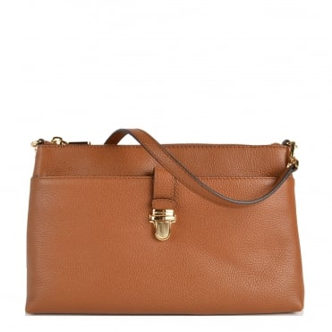 Mercer Large Luggage 'Tan' Pocket Crossbody Bag
