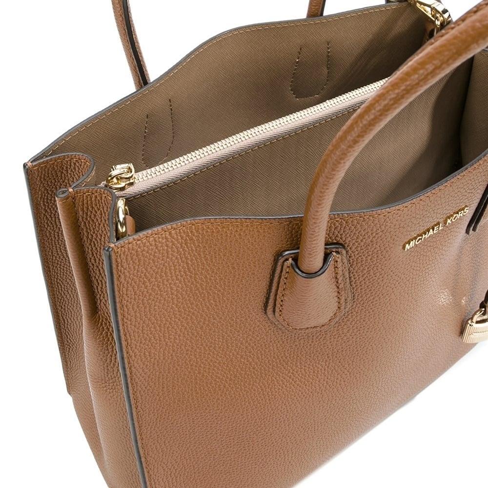 4f53419e2dbe MICHAEL MICHAEL KORS Mercer Luggage 'Tan' Large Convertible Tote