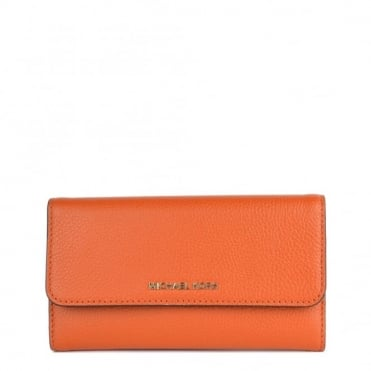 Mercer Orange Trifold Wallet