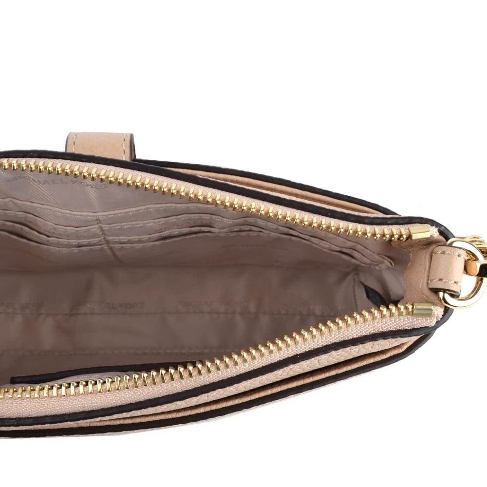 3aae73a22ebf83 MICHAEL MICHAEL KORS Mercer Oyster Medium Snap Pocket Crossbody Bag
