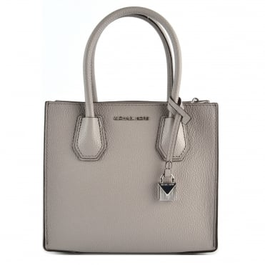 Mercer Pearl Grey Medium Messenger Bag