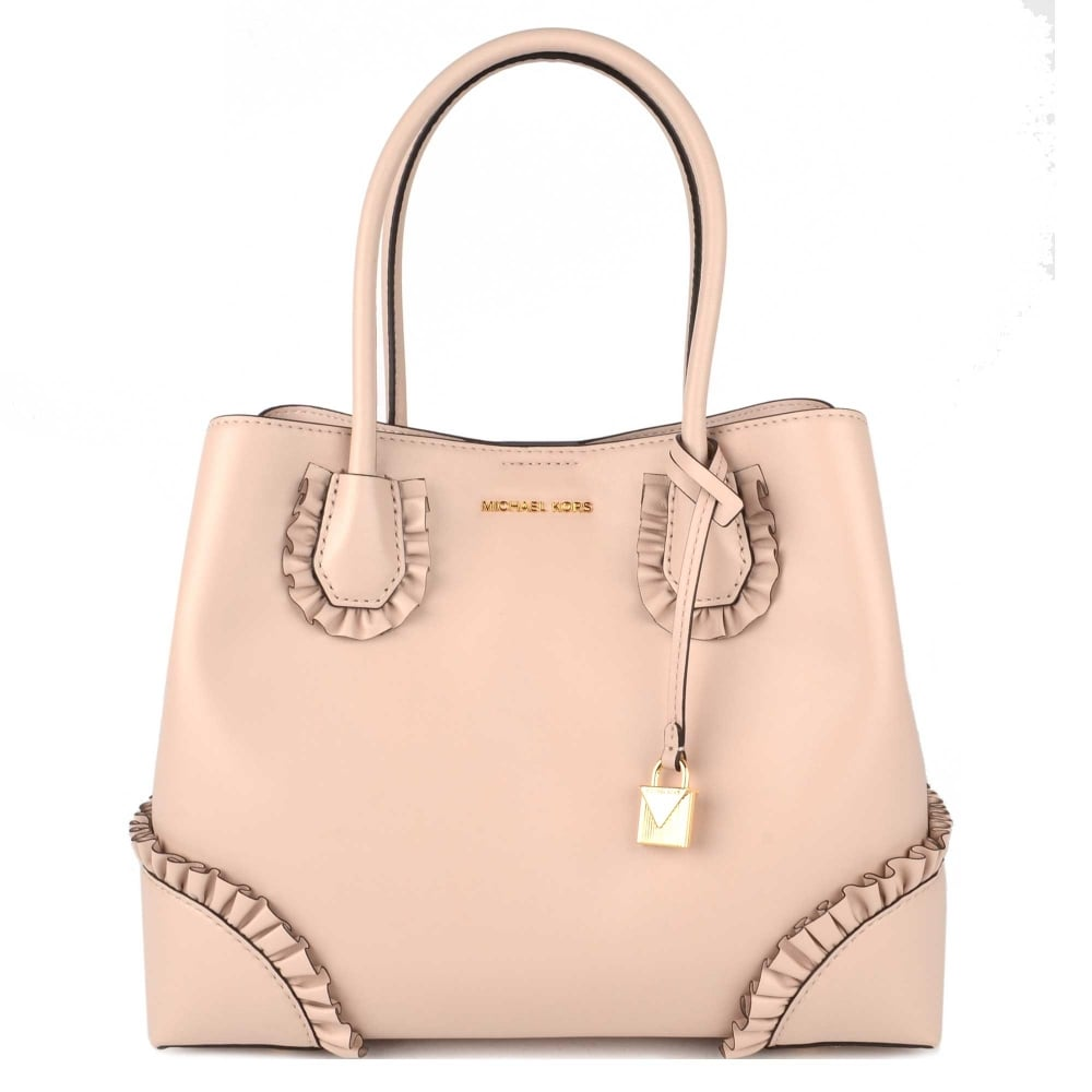 57b401917d24 MICHAEL by Michael Kors Mercer Soft Pink Gallery Medium Tote Bag