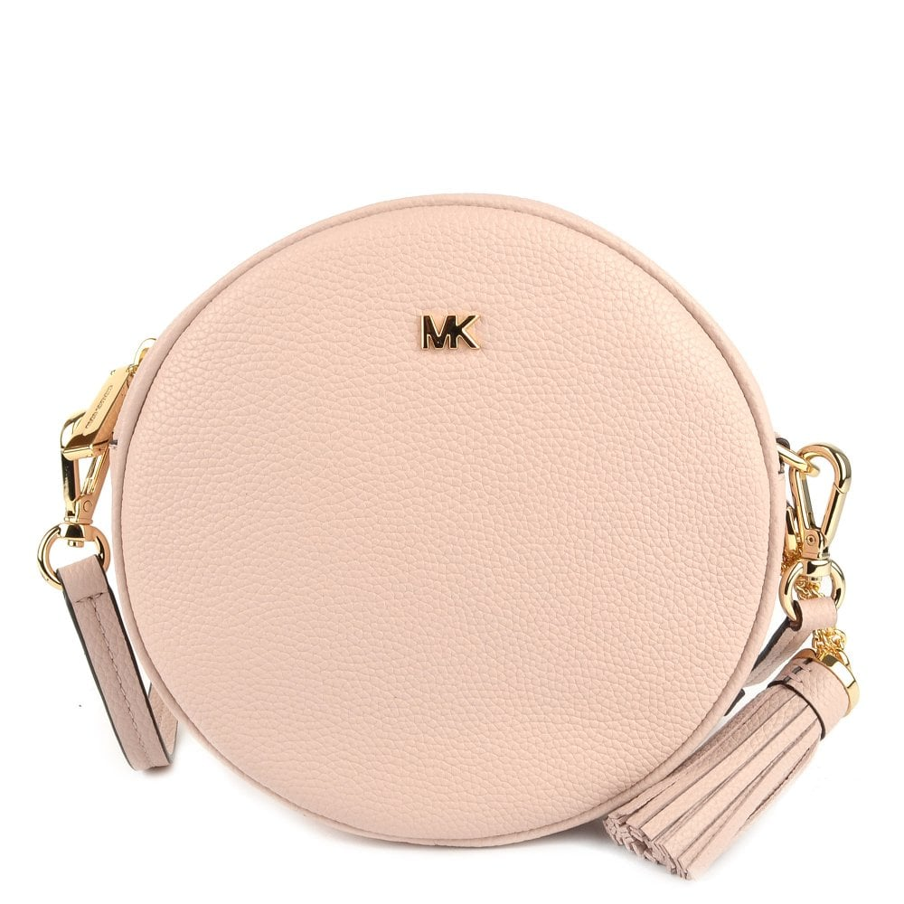 17e7d126fa74 MICHAEL by Michael Kors Mercer Soft Pink Medium Canteen Crossbody