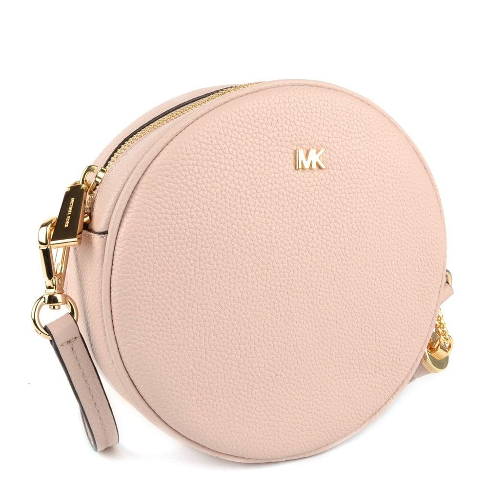 7e5eb167cd3a2 MICHAEL by Michael Kors Mercer Soft Pink Medium Canteen Crossbody
