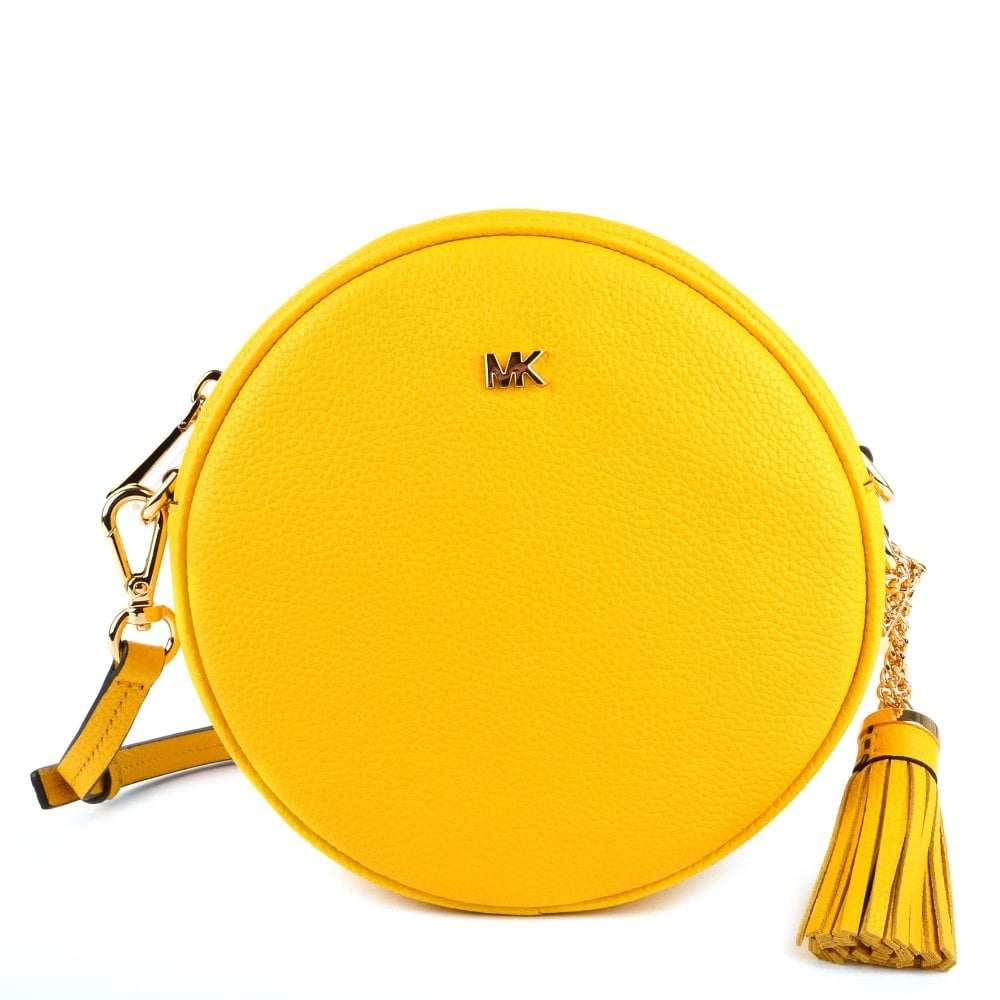 955791c4e4056b MICHAEL by Michael Kors Mercer Sunflower Medium Canteen Crossbody