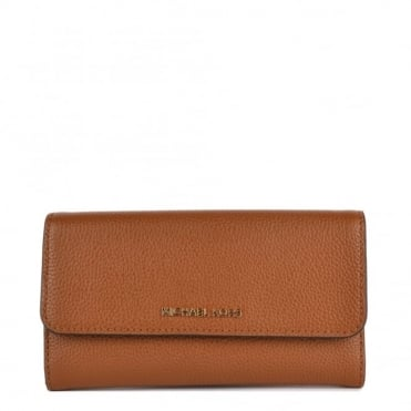 Mercer Tan 'Brown' Trifold Wallet