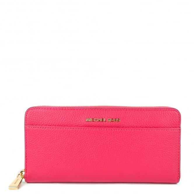 MICHAEL by Michael Kors Mercer Ultra Pink Pocket Continental Wallet