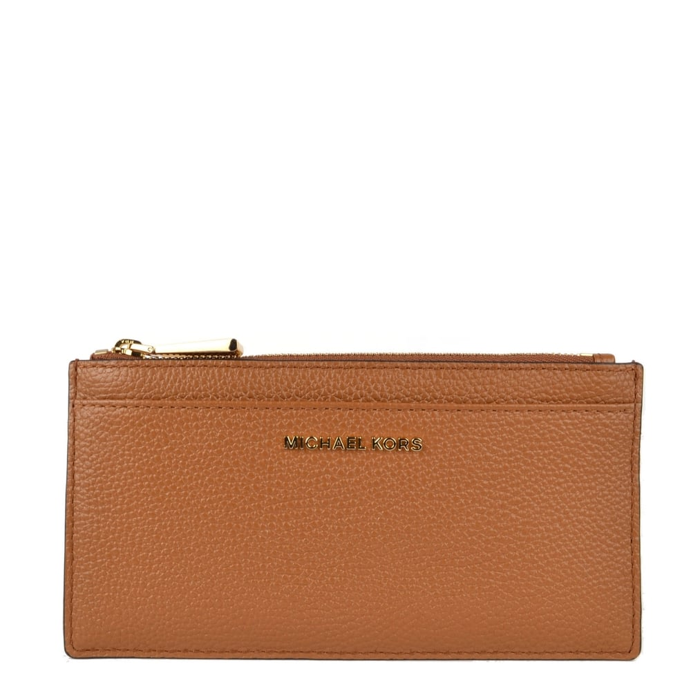 official photos ec53a e23dd Money Pieces Acorn Leather Slim Card Case