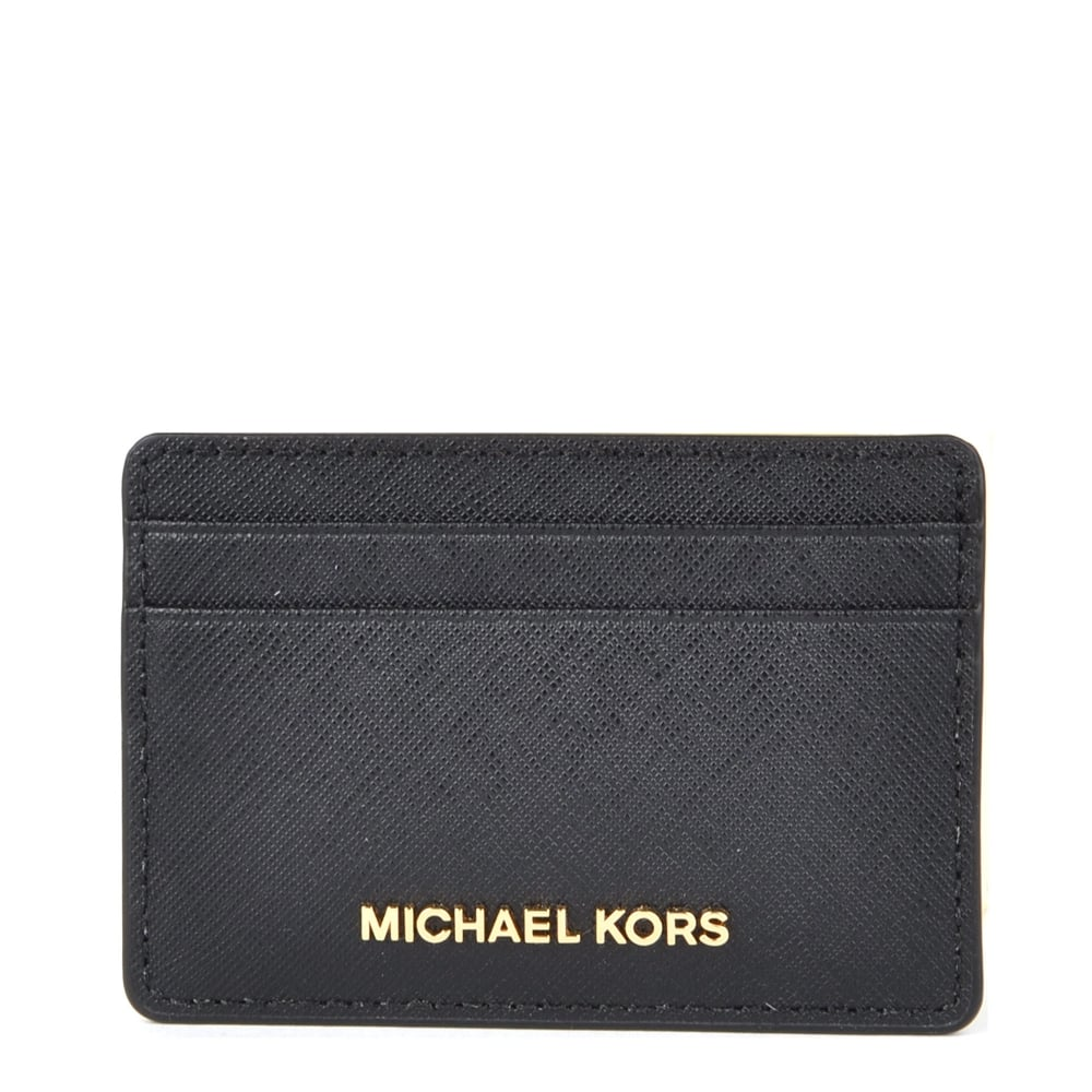 c8c3bfd7904f MICHAEL by Michael Kors Money Pieces Black Card Holder
