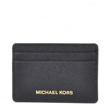 Money Pieces Black Card Holder