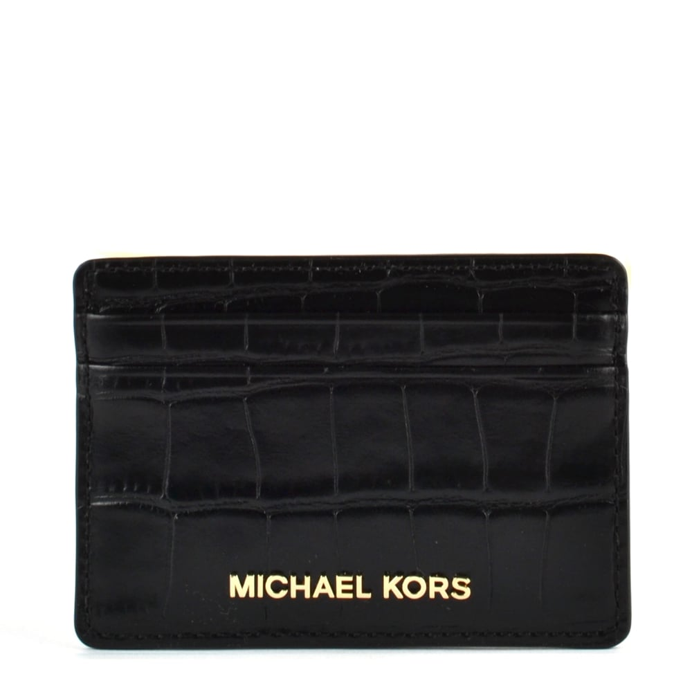MICHAEL by Michael Kors Money Pieces Black Card Holder Michael Kors 1YSfh0